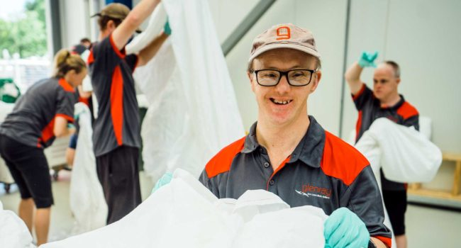 Laundry - Supported Employment | Glenray Industries, Bathurst