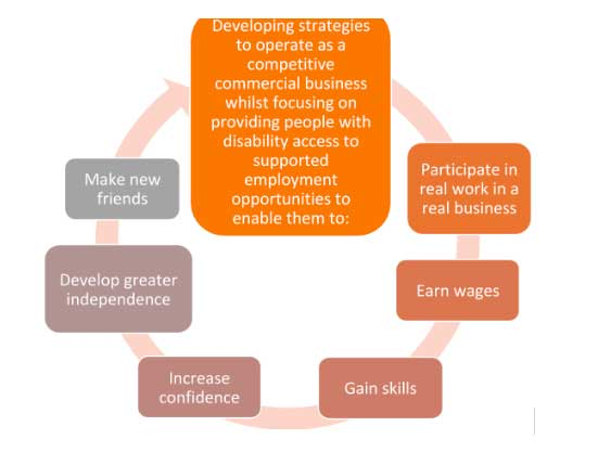 Vocational Development Flowchart - Glenray Industries, Bathurst