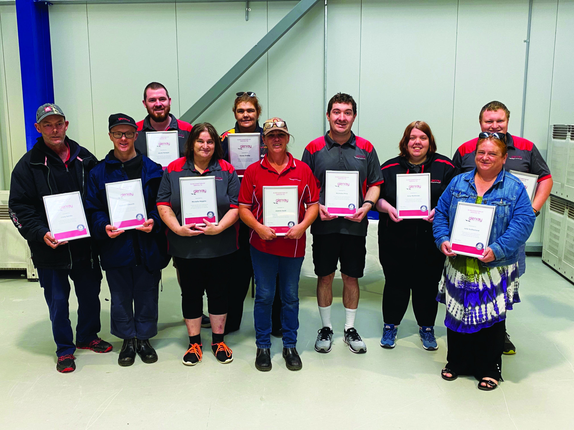 People with Recognition awards